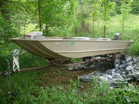 Mod V Jon Boat Trailer by S River Jon Tinboats Net