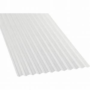 Plaque Archi Leroy Merlin : plaque polycarbonate petites ondes translucide 3 x ~ Zukunftsfamilie.com Idées de Décoration