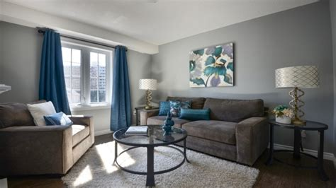 Grey Living Room Brown Blue Pinterest Living Room Lounge Bay Ridge The Deansgate Paint According To Vastu With Blue Curtains Orange Sofa Cafe Menu Design Of Wallpaper Escape Mobest Media