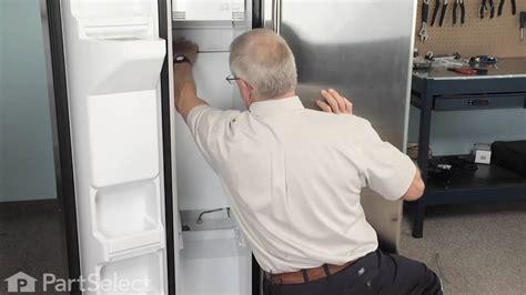 refrigerator freezer repair defrost heater harness kit ge part wrx youtube