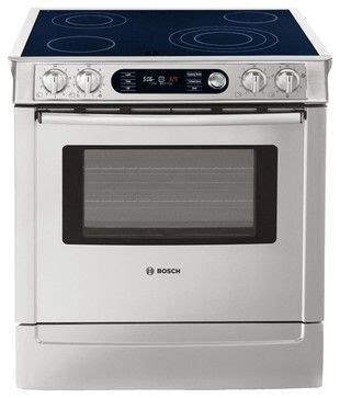 kitchen and bath bosch 30 quot slide in range gas ranges and electric