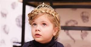 Coiffure Facile Pour Petite Fille : coiffure de princesse notre tuto facile pour votre petite fille ~ Nature-et-papiers.com Idées de Décoration
