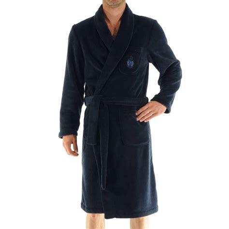peignoir robe de chambre robe de chambre baikal christian en polaire bleu