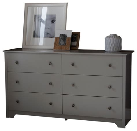 South Shore Step One Dresser Gray Oak by South Shore Vito Dresser Transitional Dressers By