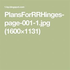 Plansforrrhinges