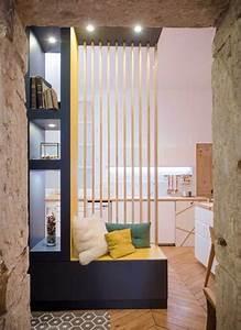 deco separation de piece cheap collection avec With idee deco cuisine avec lit en bois
