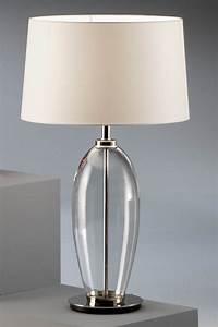 Lampe A Poser Contemporaine : lampadaire verre et metal ~ Teatrodelosmanantiales.com Idées de Décoration