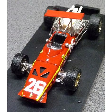Ahora que se acerca un periodo de grandes cambios en la estética de los monoplazas de f1 parece un buen momento para recordar las siluetas que lucían. Ferrari 312F1 Jacky ICKX French GP 1968 - FormulaSports
