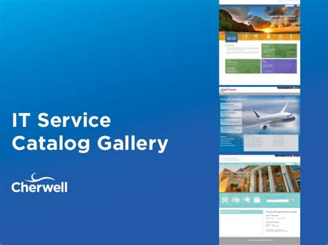 It Service Catalog Examples