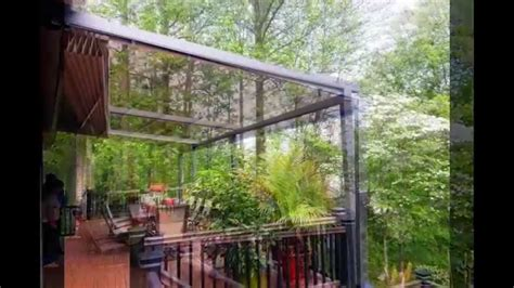 retractable awning  wind rain youtube