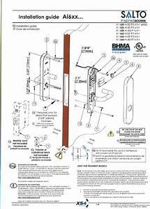 Salto Systems S L A9xw A9xw Wireless Lock User Manual