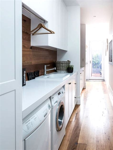 Monochrome House With Secrete Utility Room by 70 Functional Laundry Room Design Ideas Shelterness