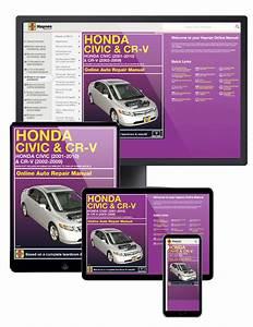 Honda Civic  U0026 Crv Online Service Manual  2001