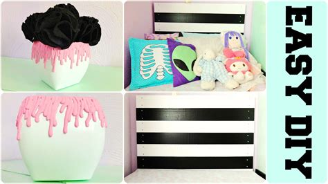 diy tumblr room decor pastel goth inspired youtube