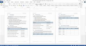 documentation plan template ms word With microsoft planner documents