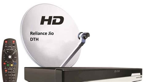 jio dth dish set top box specification plans  price