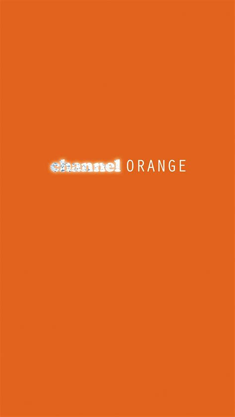Channel Orange Wallpaper by Mobile Wallpaper Frank Channel Orange Hiphopimages