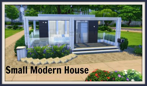 of sims 4 house building small modernity sims 4 speed build small modern house Best