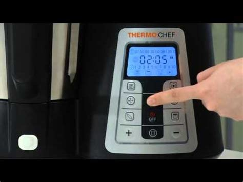cuisiner avec le thermo chef