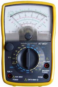Analog Multimeter  Kt8021  From China Manufacturer