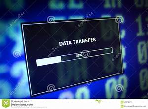 Data transfer stock image. Image of program, hexadecimal ...