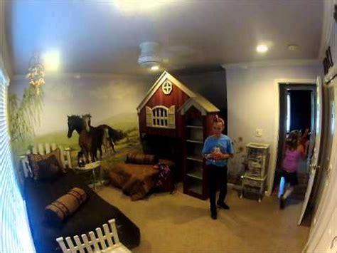 girls  horse themed room youtube