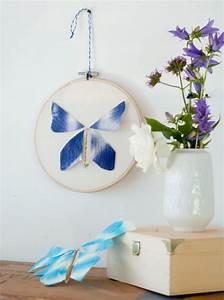 Schmetterlinge Aus Papier : flatternde schmetterlinge aus papier und draht handmade ~ Lizthompson.info Haus und Dekorationen