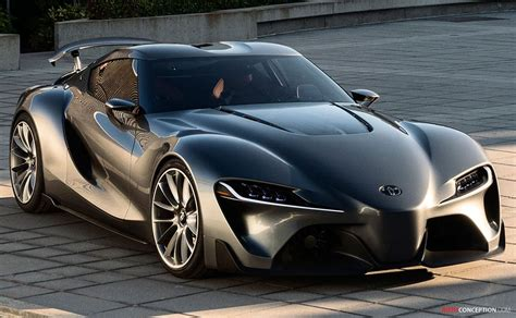 Toyota Unveils Racing Ft-1 Vision Gran Turismo Concept