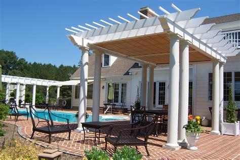 retractable pergola covers austin shade outdoor living solutions