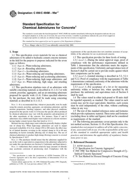 ASTM-C494,pdf.pdf | Concrete | Materials