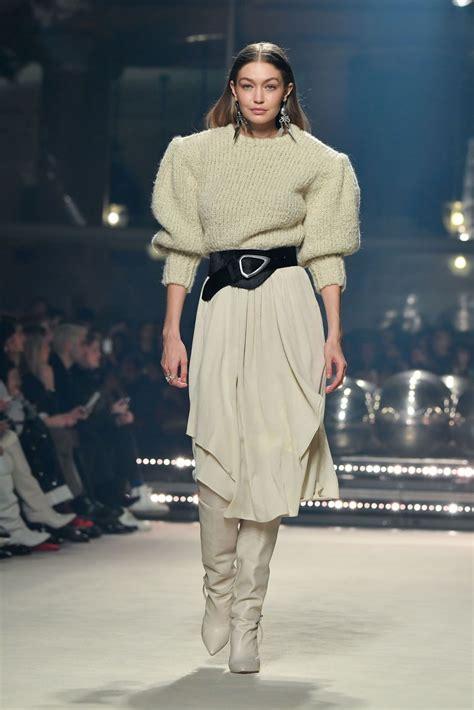 Gigi Hadid – Walks Isabel Marant Show at Paris Fashion ...