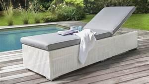 Bain De Soleil Résine Tressée : 12 chaises longues et bains de soleil ~ Dailycaller-alerts.com Idées de Décoration