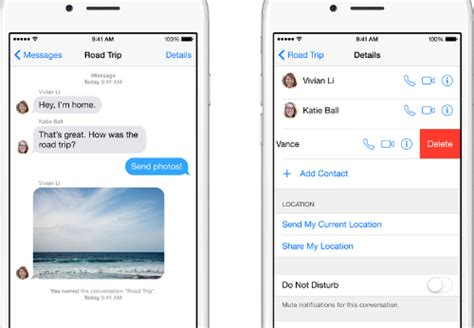 how to leave a message on iphone ios button with image and text