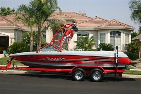 Sanger Boats Fresno by 05 Ski Sanger V215 Boat For Sale