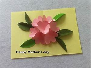 DIY Beautiful Pop Up Flower Card - DIY Mother's Day Card ...