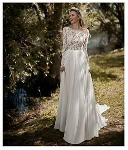 LORIE Boho Long Sleeves Wedding Dress 2019 Robe de mariee ...