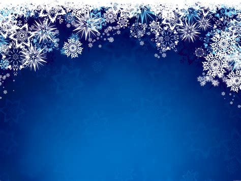 Blue Snowflake Background by Blue Snowflakes Background Psdgraphics
