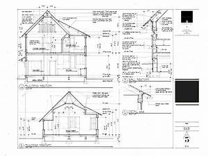 Plan And Section Of Residential Building  U2013 Modern House
