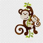 Clipart Monkey Cartoon Mother Transparent Gorilla Clip