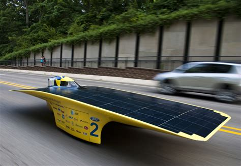 Solar Car by Solar Car Quantum To Tour Michigan In The Ultimate Road Test
