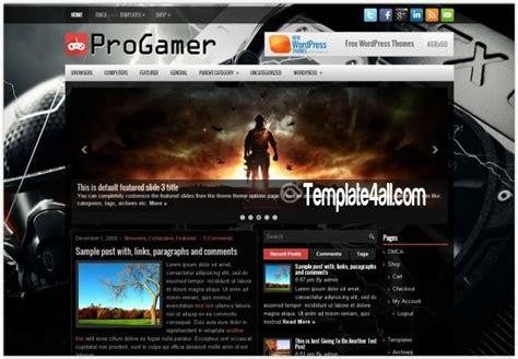 dark pro gaming wordpress theme