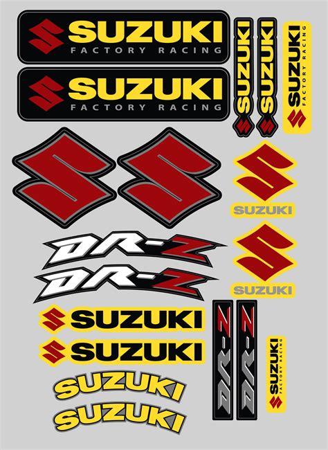 Suzuki Stickers by Suzuki Drz Sticker Kit