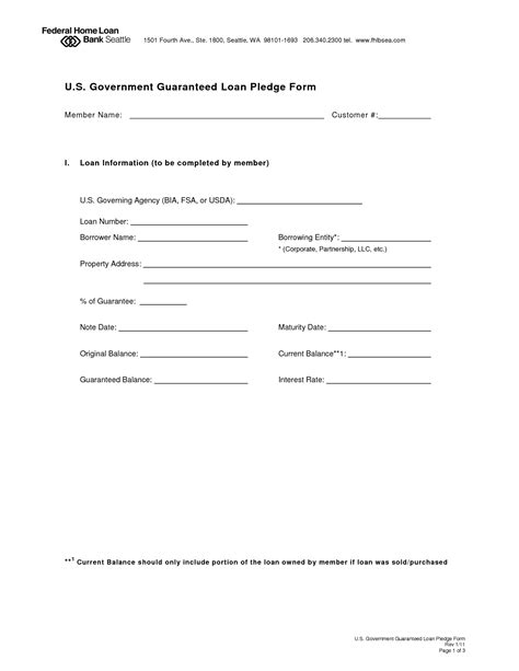 personal loan repayment agreement  printable documents