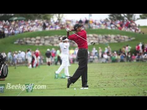 Tiger Woods Iron Shot