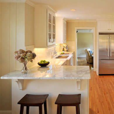eat in galley kitchen your eat in kitchen 10 space smart design ideas wood 7016