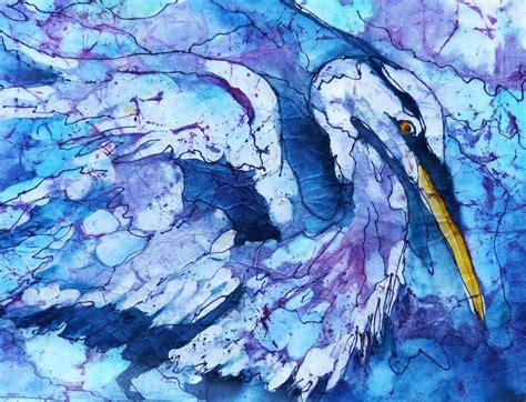 cool    colors art batiksfabricsilk