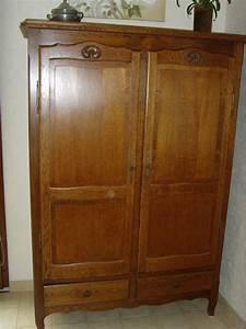Armoire Deux Portes : armoire ~ Teatrodelosmanantiales.com Idées de Décoration