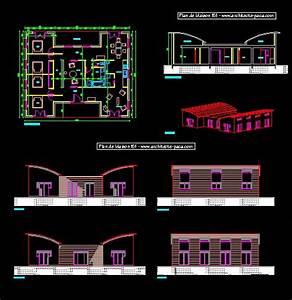 plan maison en dwg With plan de maison dwg gratuit