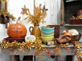 Country Home Fall Decorating Ideas