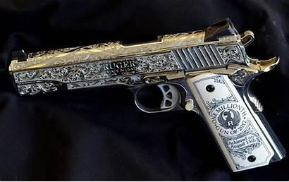 Pistol Ruger Gun 4k Guns Wallpapers Engraved